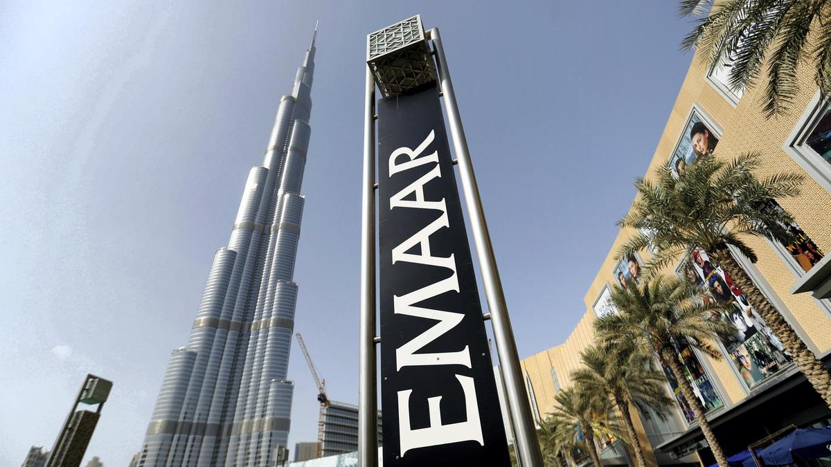 The Emirati Emaar Properties said it sold the Address Sky View hotel, downtown Dubai, for $204 million
