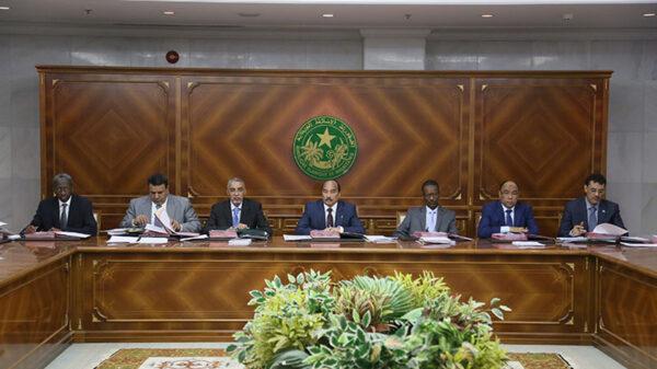 الحكومة المورتانية