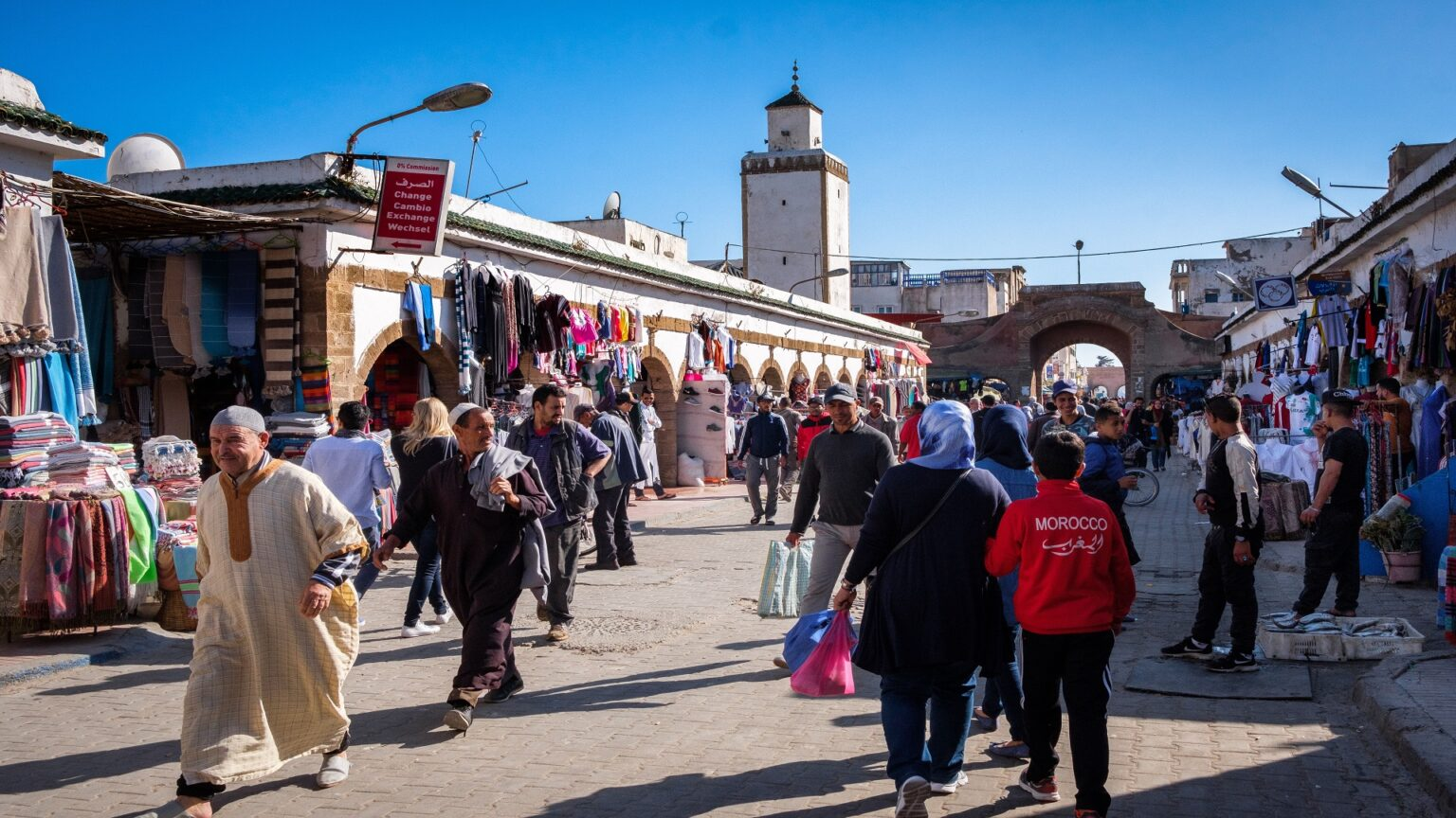 The Moroccan city Oujda witnessed an active commercial movement after Amazighs celebrated the Amazigh New Year.