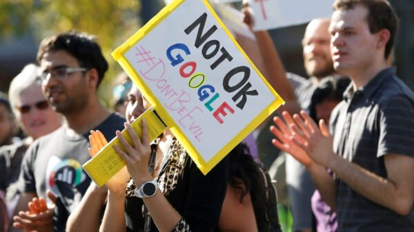 "More than 200 Google employees established a labor union that ""strives to protect Alphabet workers""."