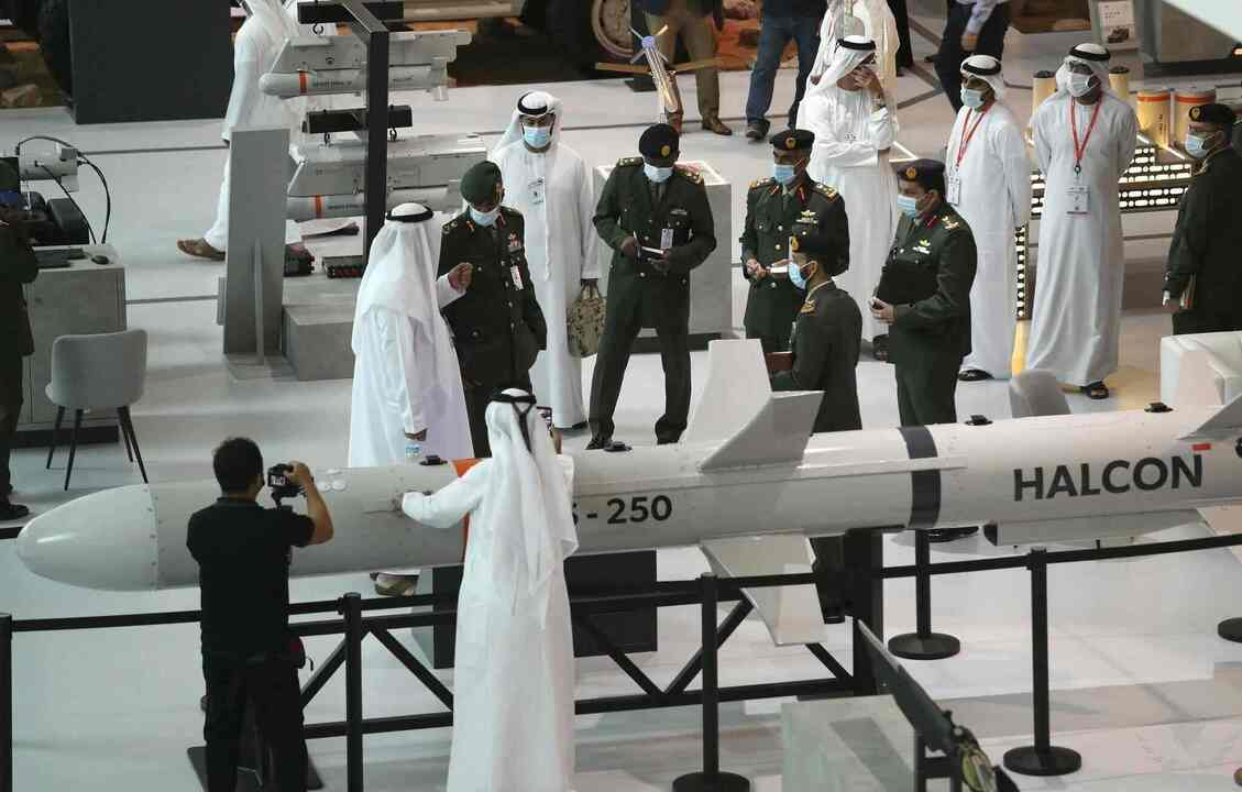 الإمارات تورّد صواريخ دفاع جوي