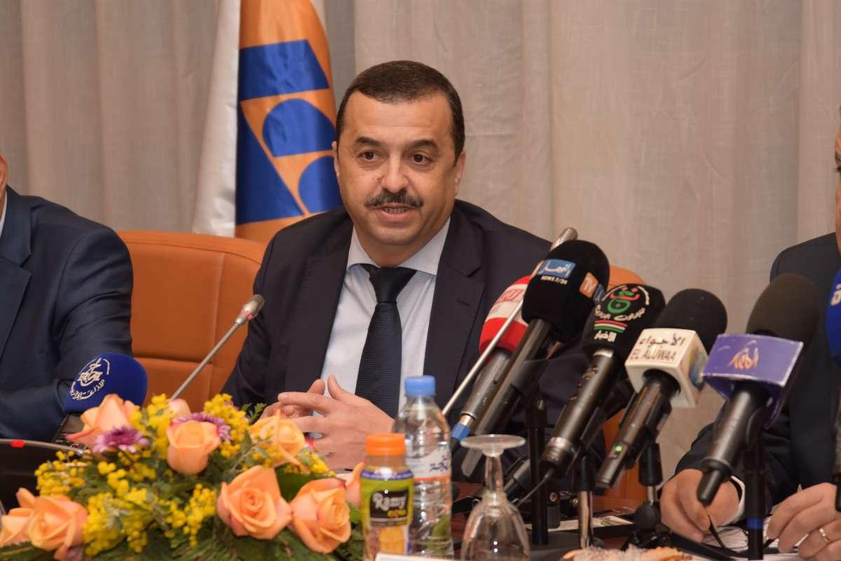 وزير الطاقة محمد عرقاب