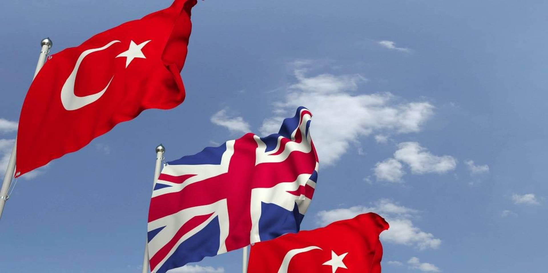 تركيا وبريطانيا
