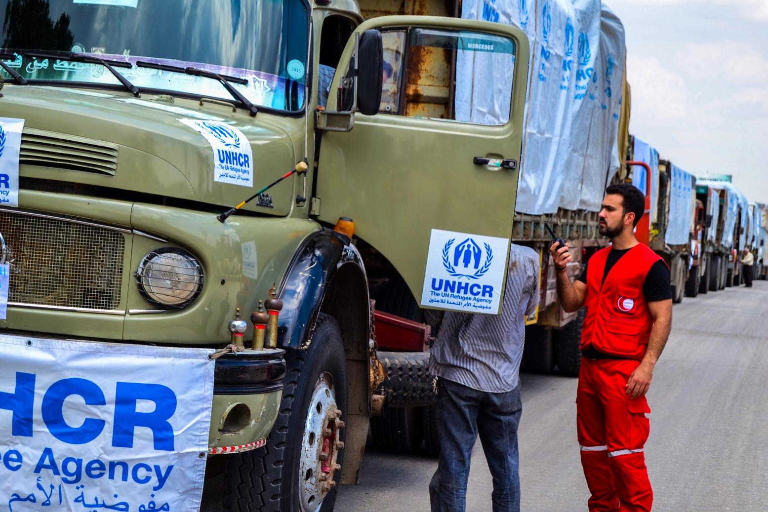 مساعدات الإنسانية