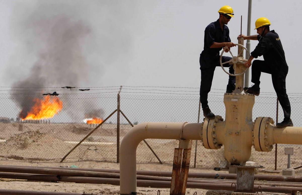 وزارة النفط العراقية تفتتح وحدة جديدة للغاز