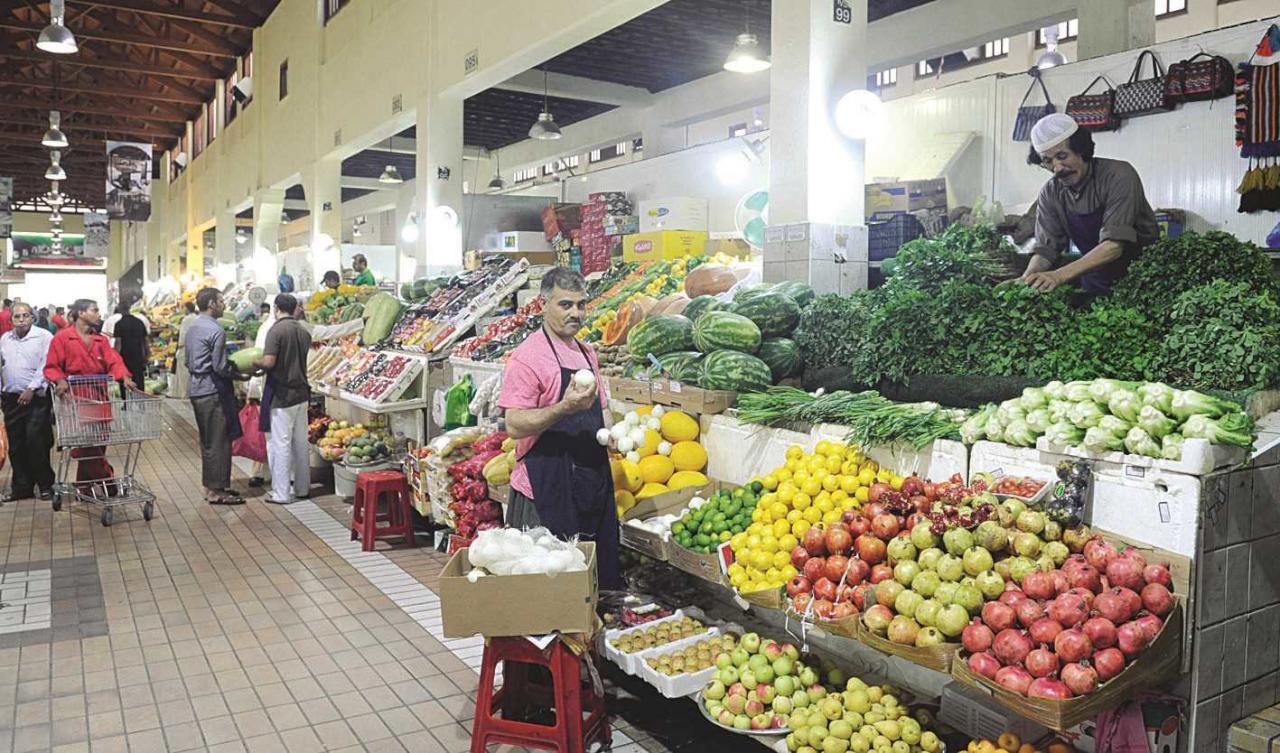 أسعار الخضراوات والفواكه