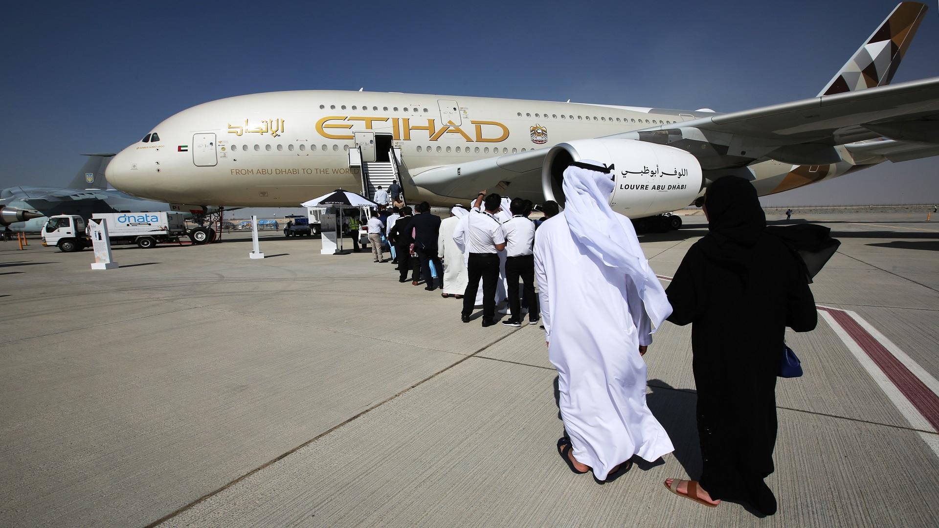 خسائر الاتحاد الإماراتية للطيران