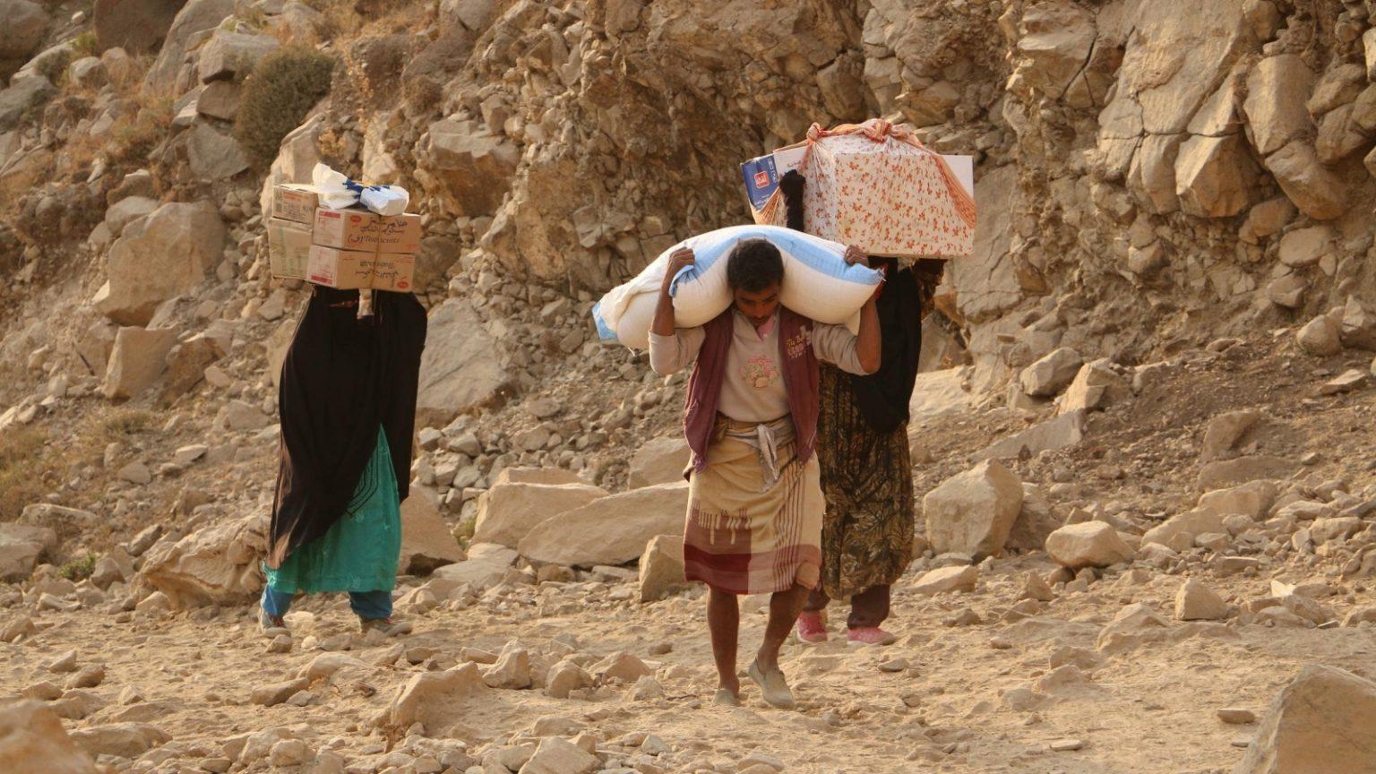 Relief efforts in Yemen