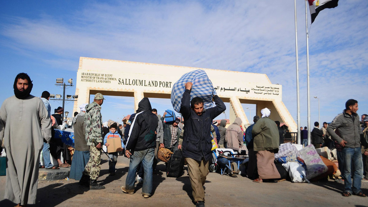 العمالة المصرية تعود إلى ليبيا