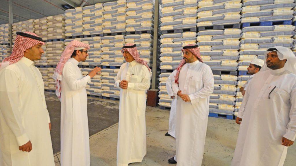 مطاحن القمح في السعودية