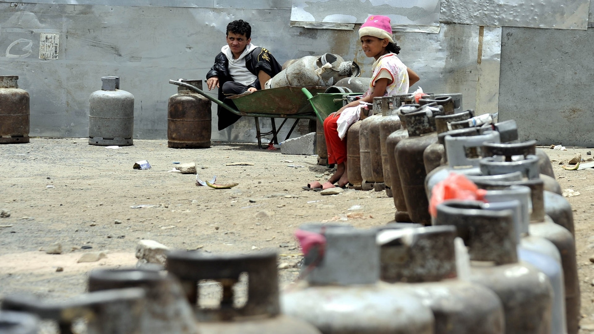 أسعار الغاز تقفز في اليمن