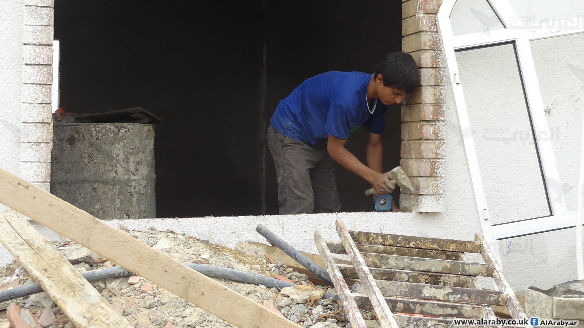 مواد البناء في اليمن