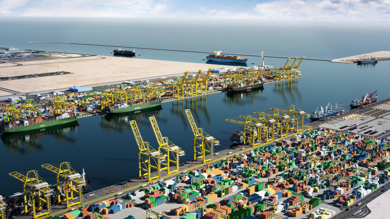 Qatar's main port