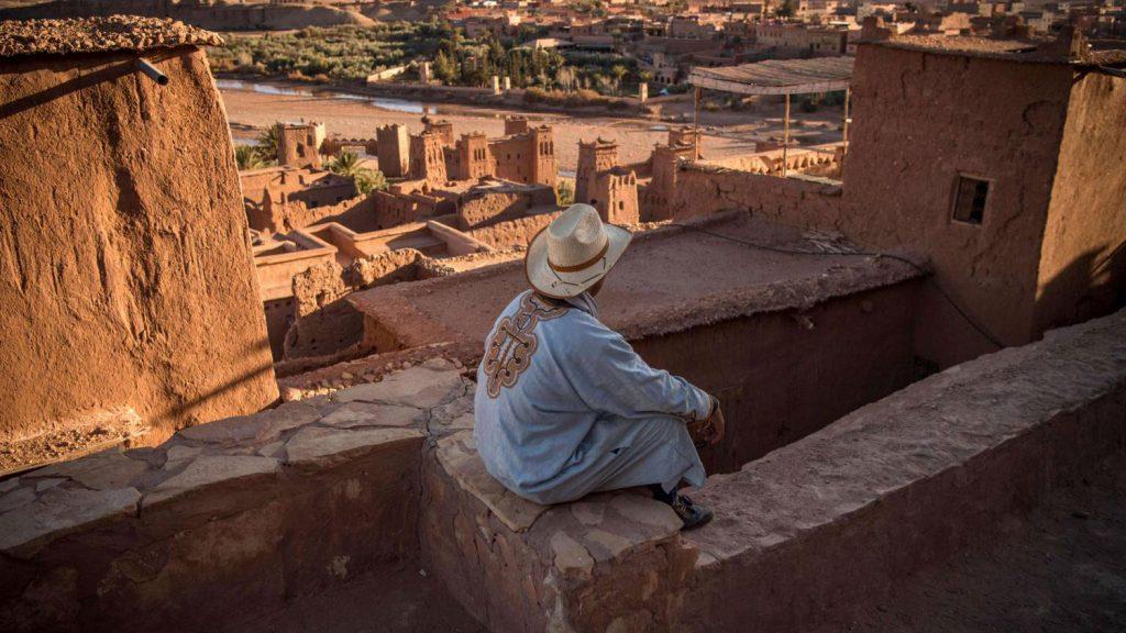 Tourists Morocco