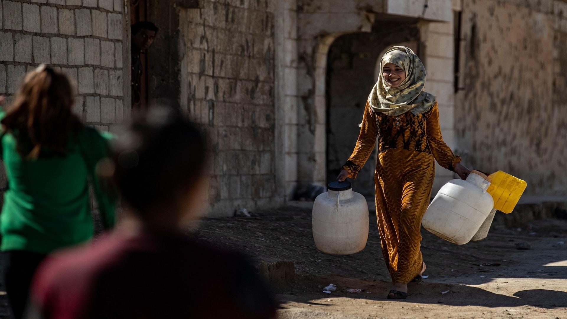 لأزمة مياه