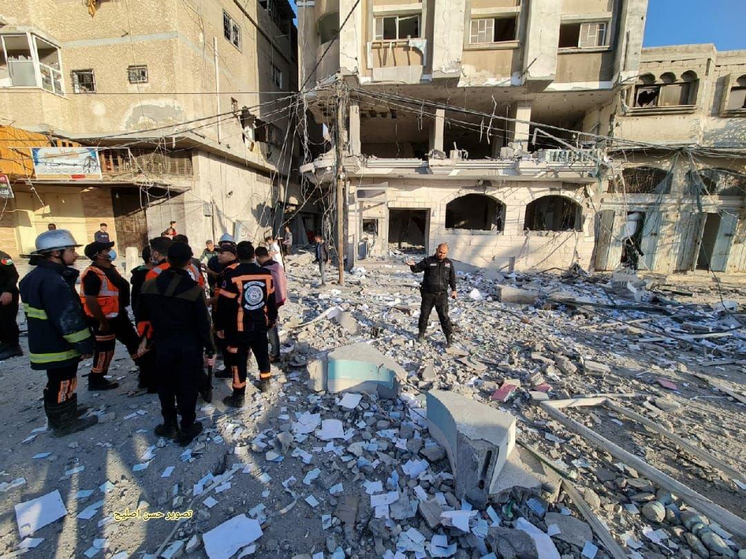 البنوك في غزة