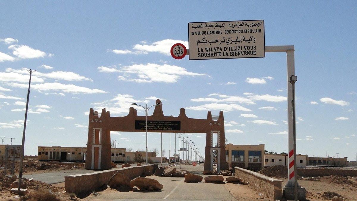 حدود الجزائر