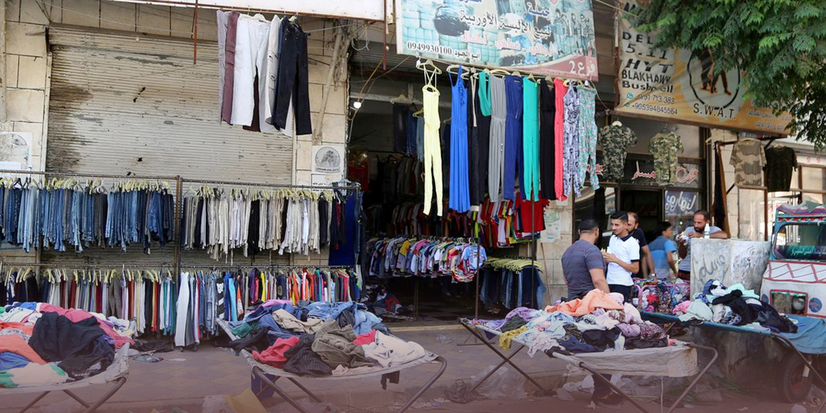 Clothes prices in Syria