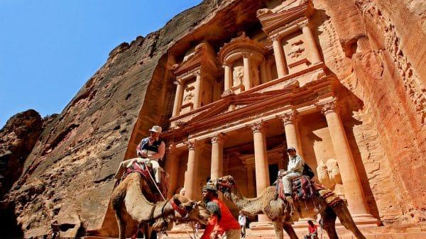 Tourism income in Jordan