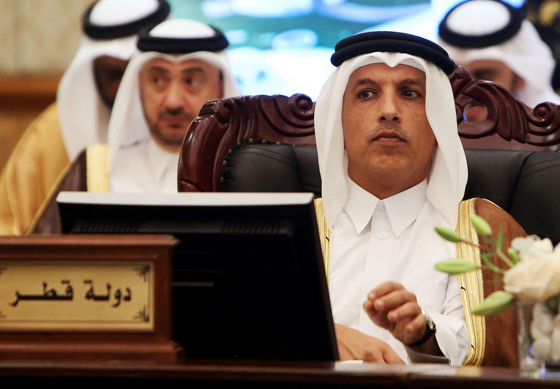وزير المالية القطري