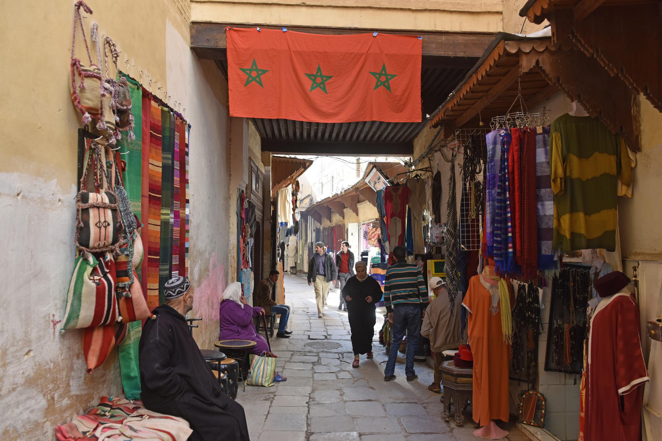 تجار المغرب