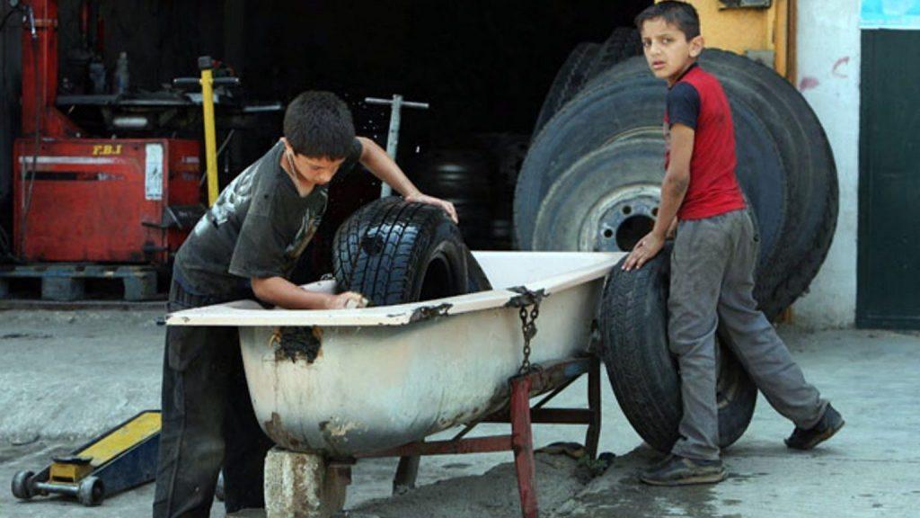 child labor in Jordan