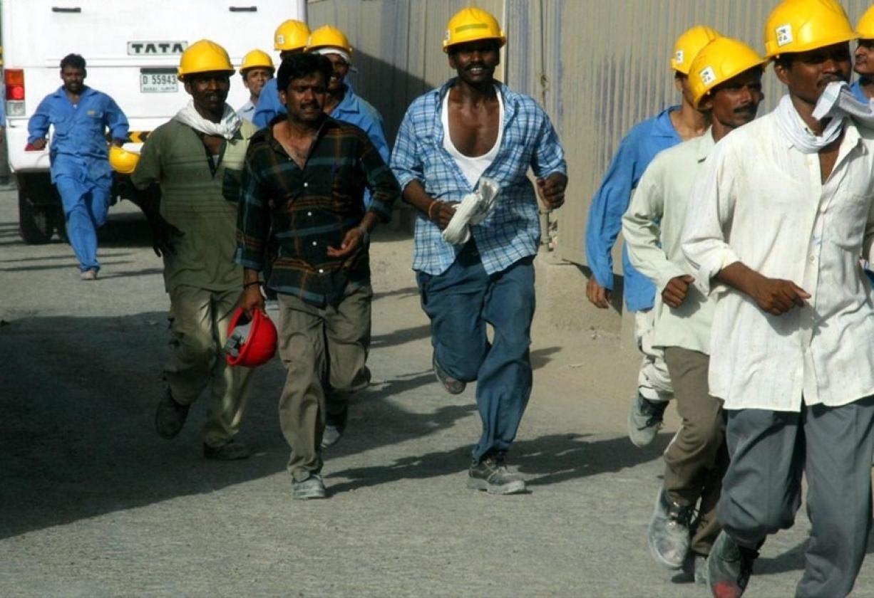 العمالة الوافدة من الهند