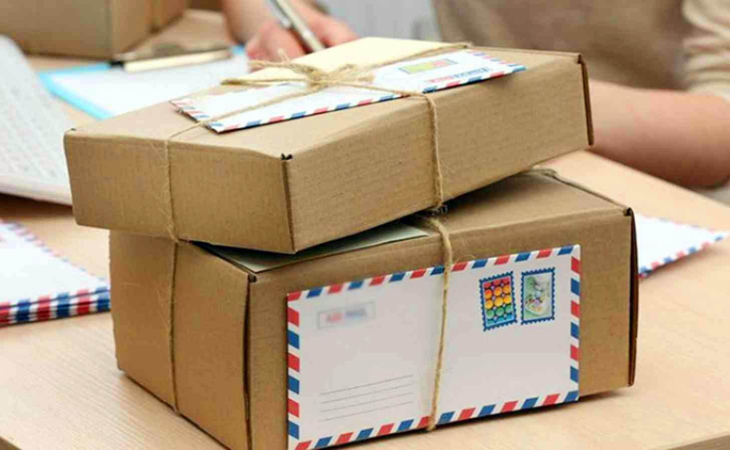 الطرود البريدية