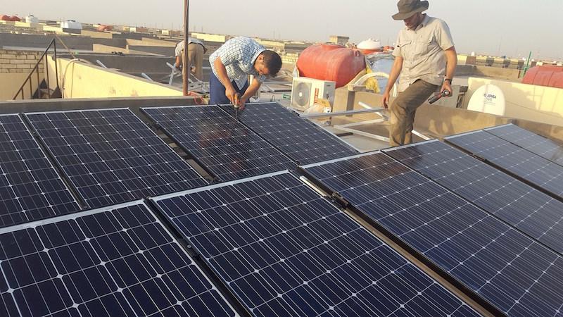 Iraq solar power