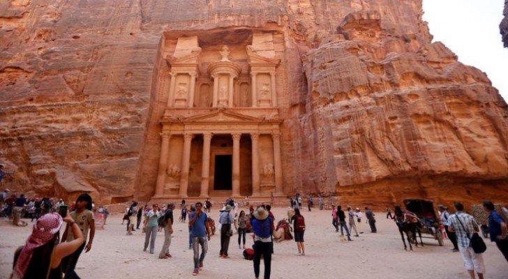 Tourism revenues in Jordan